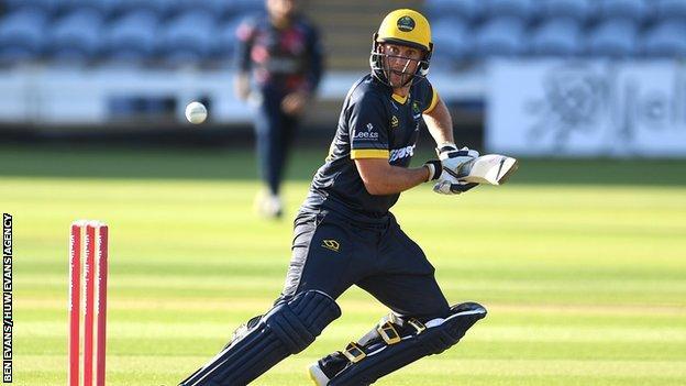 Glamorgan captain Chris Cooke will miss the Somerset game through injury