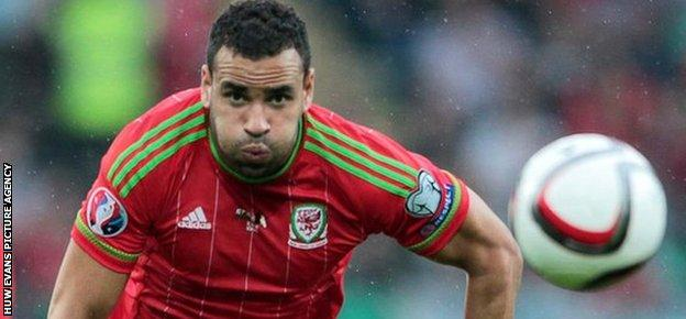 Wales forward Hal Robson-Kanu