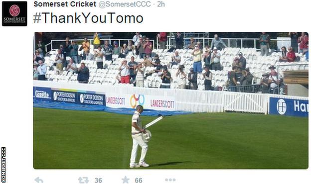 Somerset Tweet