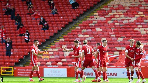 Aberdeen 1-0 Kilmarnock: Ross McCrorie's first goal for Aberdeen earns  points - BBC Sport