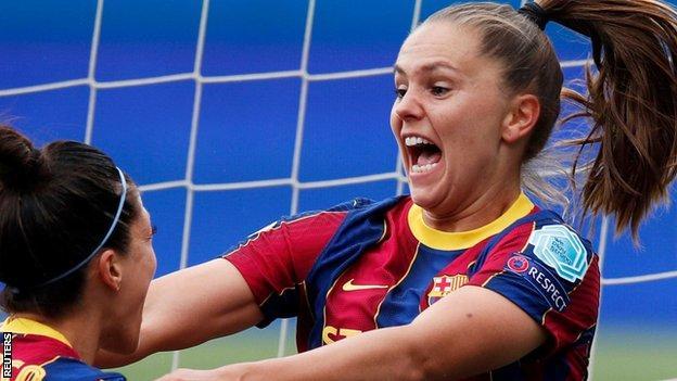 Barcelona's Lieke Martens