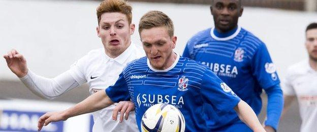 Cowdenbeath confirmed that among the bets placed by Dean Brett, eight were against his own team
