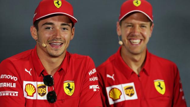 Charles Leclerc: I won't crash with Ferrari team-mate Sebastian Vettel again thumbnail