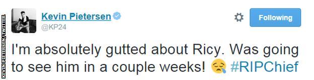 Kevin Pietersen tweet