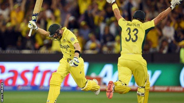 Australia are the World Cup holders after winning on home soil last year