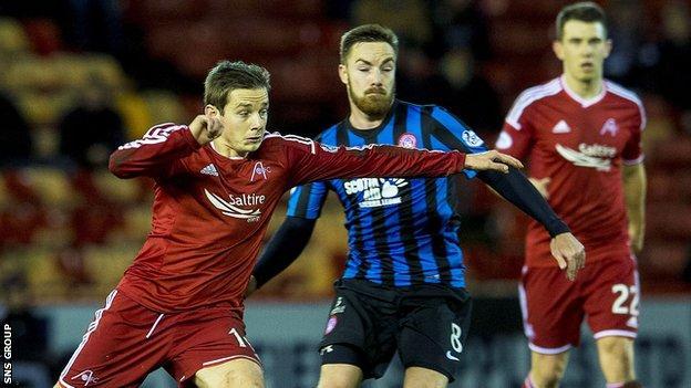 Aberdeen enjoyed three league wins against Hamilton last season