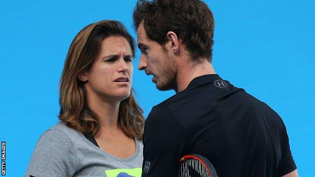 Andy Murray, Amelie Mauresmo