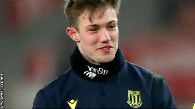 New Posh loan signing Josef Bursik has made 16 appearances for Stoke Ctiy this season