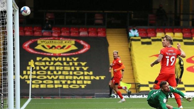 Watford 1 0 Luton Town Joao Pedro Goal Gives Hornets Victory Bbc Sport