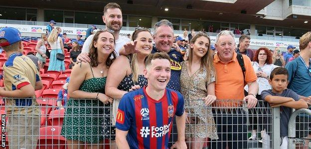 Bobby Burns and family