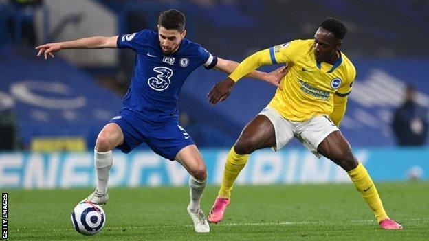 Chelsea 0-0 Brighton & Hove Albion: Hosts held on dramatic night for European football thumbnail