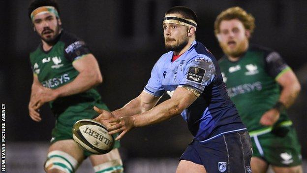 Cardiff Blues flanker Ellis Jenkins has played 11 internationals for Wales