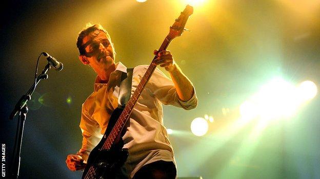 James bassist Jim Glennie