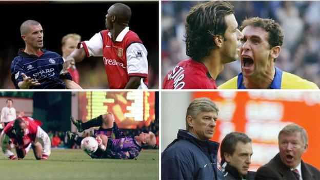 Man Utd V Arsenal Has The Premier League Match Become A Lost Rivalry Bbc Sport