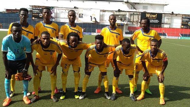 Liberia's Invincible Eleven