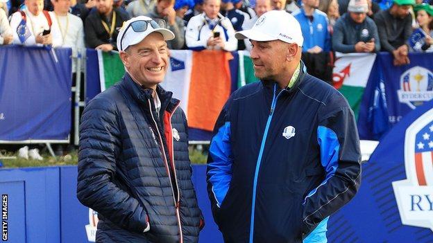 Jim Furyk and Thomas Bjorn