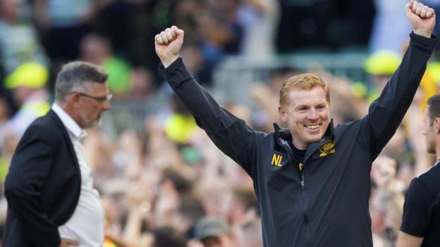 Celtic 3-1 Hearts: Neil Lennon wants goal-scoring form to continue