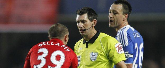 Craig Bellamy and John Terry