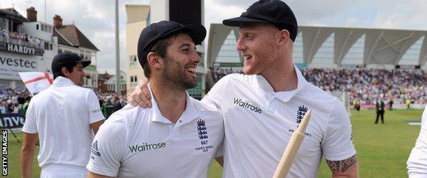 Mark Wood & Ben Stokes