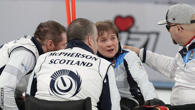 The Scotland team talk tactics