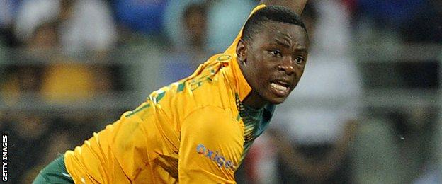 Kagiso Rabada South African bowler