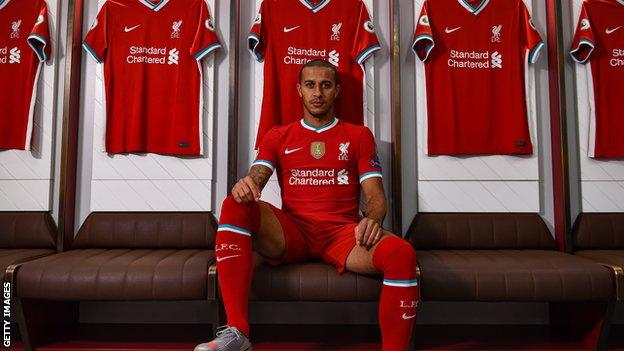 Thiago Alcantara: Liverpool sign midfielder from Bayern Munich for £20m (2020)
