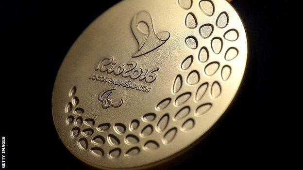 Paralympic gold medal