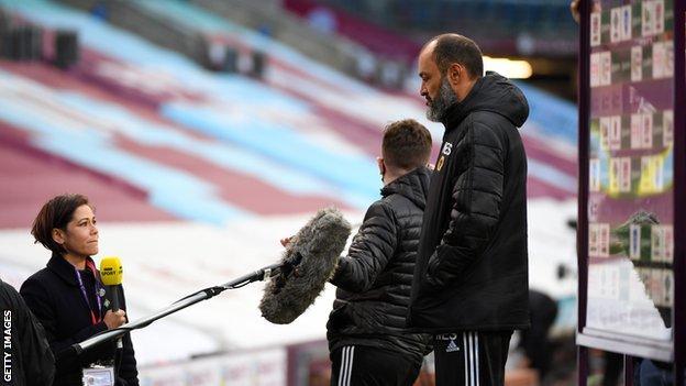 Former Wolves boss Nuno Espirto Santo speaks to BBC Sport
