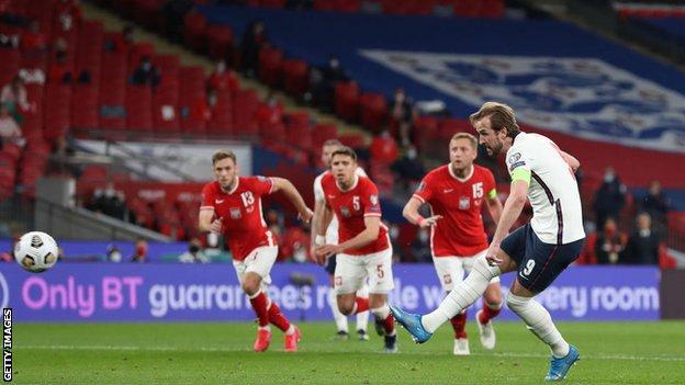 England forward Harry Kane