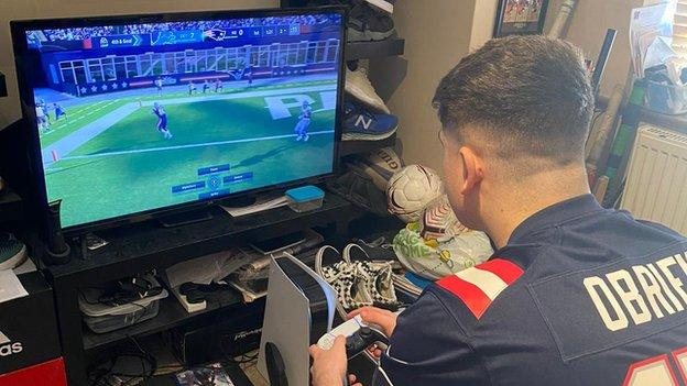 Liam O'Brien playing Madden
