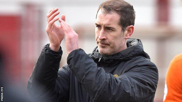 Carrick Rangers were charged over manager Gary Haveron's failure to properly serve a touchline ban