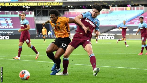 Adama Traore was involved in both of his side's goals after coming off the bench. The good news for Wolves is the 24-year-old looks in great condition for the crucial run-in
