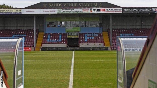 Scunthorpe United ground