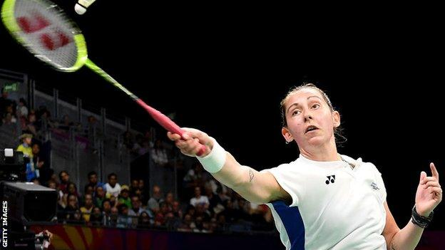 Kirsty Gilmour's opening singles win the in the semi-final wasn't enough for Scotland