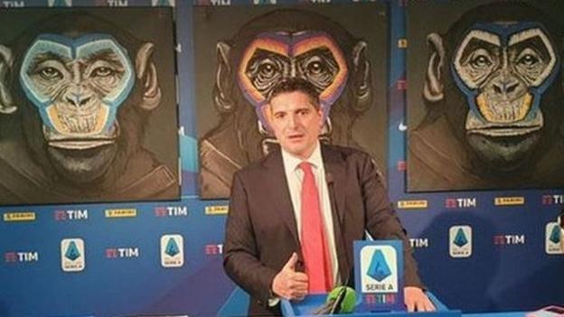 Serie A anti-racism campaign: League apologises for monkey artwork thumbnail