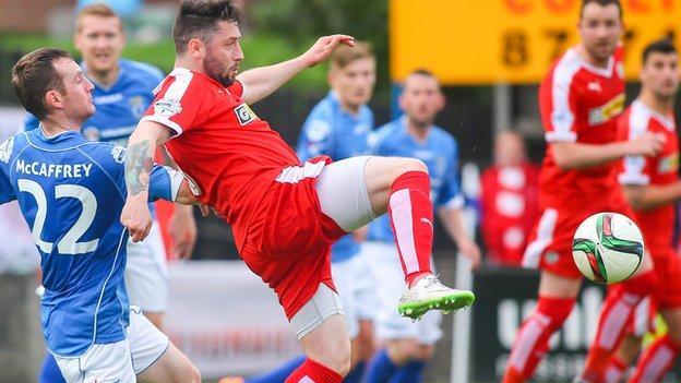 Ciaran Murray has made nine appearances for the north Belfast team