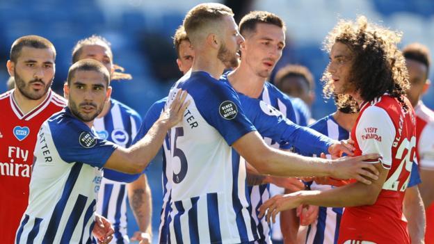 Matteo Guendouzi: Arsenal midfielder will face no FA action over Brighton clash thumbnail