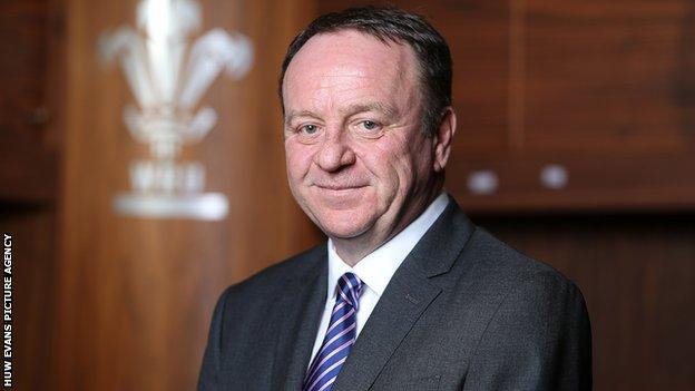 Steve Phillips replaced Martyn Phillips as WRU chief executive