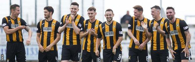 Would any player fancy their chances in front of East Fife's kangaroo court?
