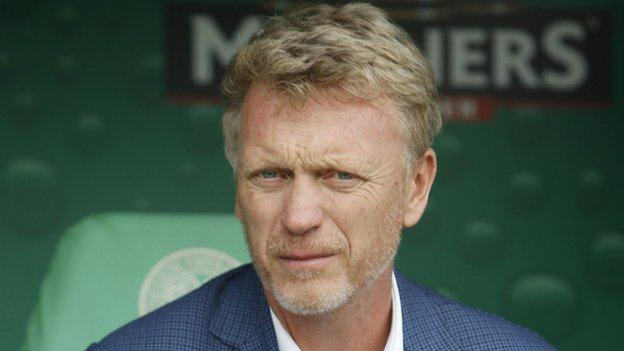 """David Moyes describes Celtic as """"a great club"""""""