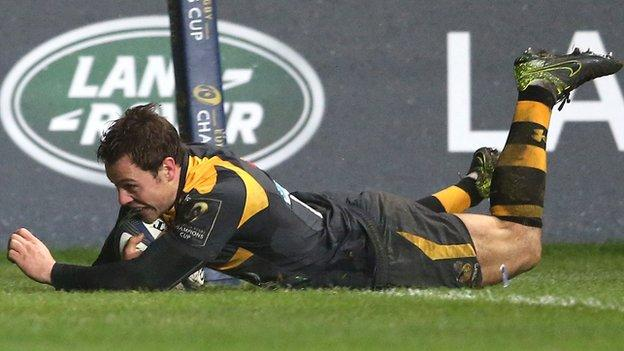 Rob Miller scored Wasps' try in the 25-23 European Champions Cup home defeat by Bath before Christmas