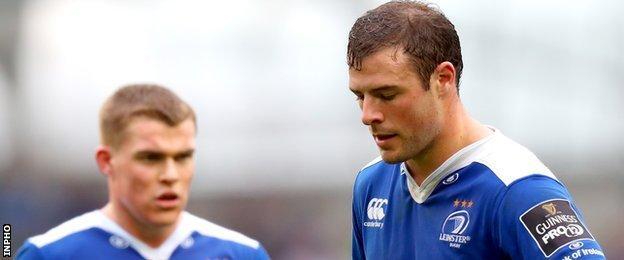 Garry Ringrose and Rob Hensahaw should form an impressive centre partnership for Leinster