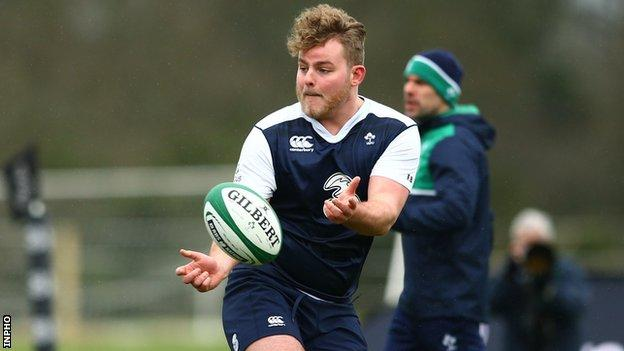 Finlay Bealham could make his Ireland debut against Italy on Saturday