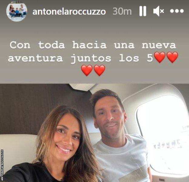 Messi's wife Antonela Roccuzzo