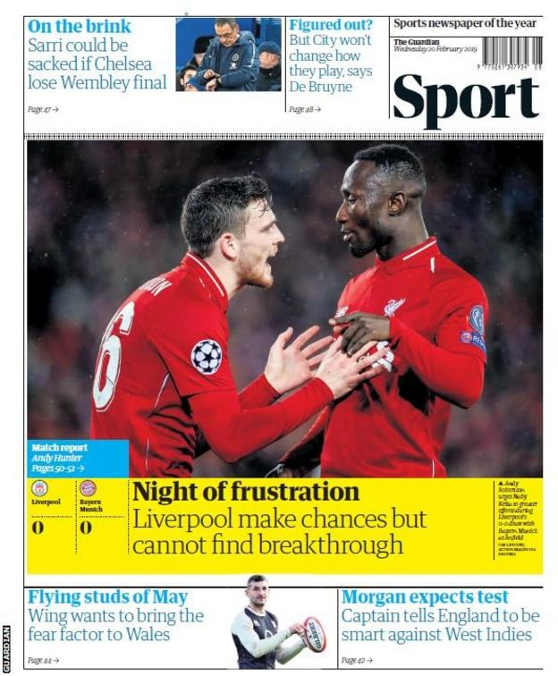 Wednesday's Guardian
