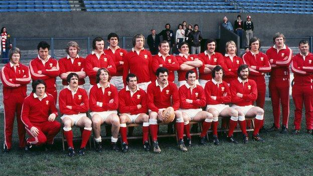 Wales won the Grand Slam in 1976 - this is the team that beat France
