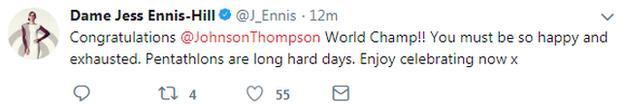 Dame Jessica Ennis-Hill won the World Indoor pentathlon title in 2010