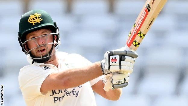 Chris Nash joined Nottinghamshire on a three-year deal from Sussex in 2017