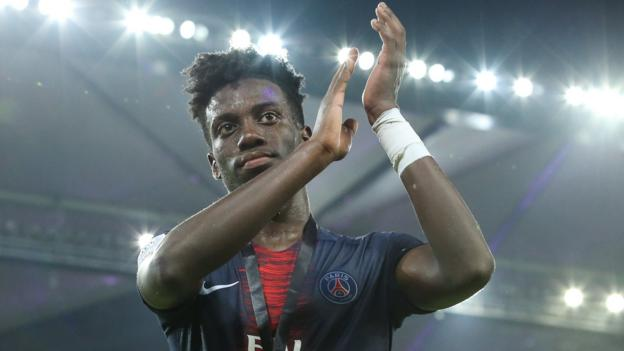 0687fee6e Timothy Weah  Celtic secure  hungry  PSG forward on six-month loan - BBC  Sport