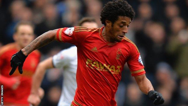 Cape Verde's Ryan Mendes playing for Nottingham Forest